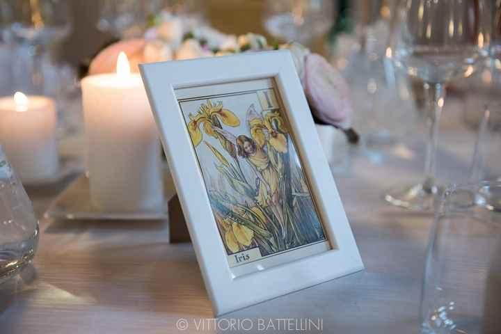 Tableau de mariage: nomi dei fiori - 1