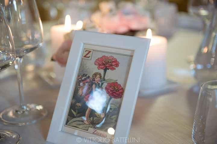 Tableau de mariage: nomi dei fiori - 2