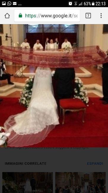 Come deve sedersi la sposa all'altare? 2