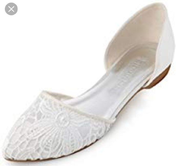 Scarpe da sposa basse 3