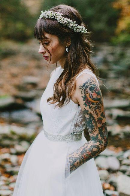 Spose tatuate: valorizzare i tatuaggi! 2
