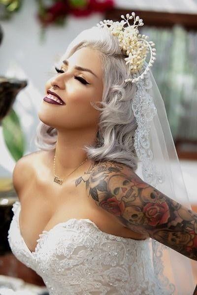 Spose tatuate: valorizzare i tatuaggi! 3