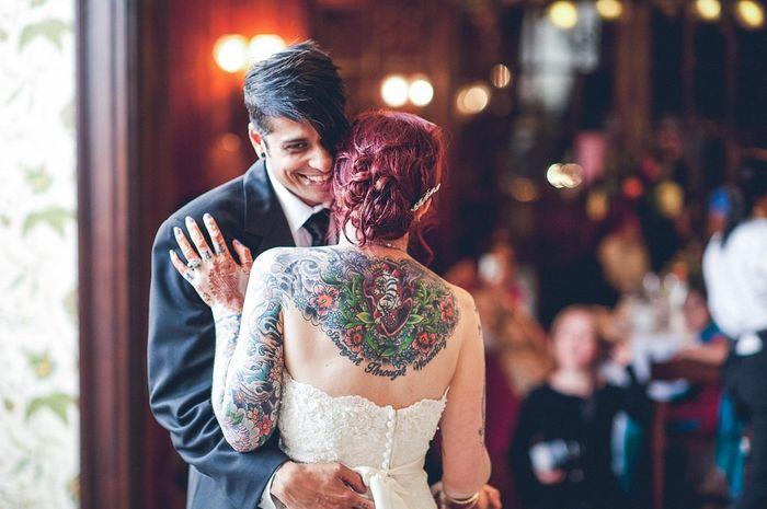 Spose tatuate: valorizzare i tatuaggi! 4