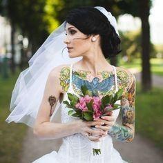 Spose tatuate: valorizzare i tatuaggi! 5