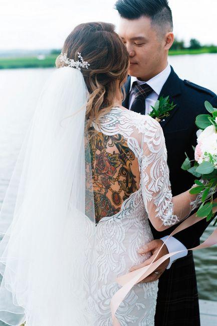 Spose tatuate: valorizzare i tatuaggi! 6