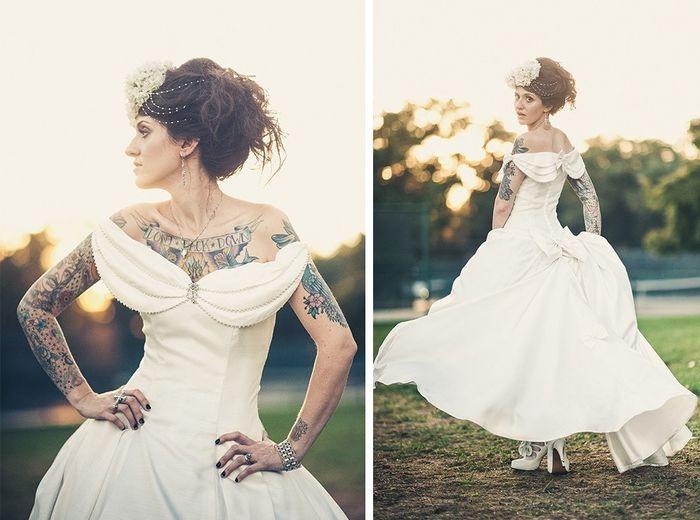 Spose tatuate: valorizzare i tatuaggi! 8