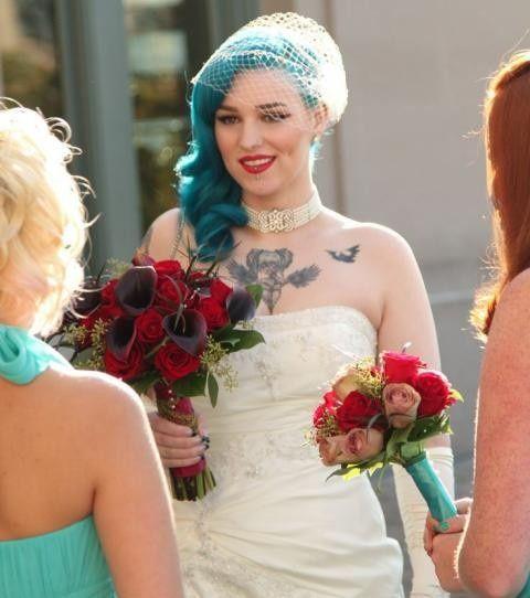 Spose tatuate: valorizzare i tatuaggi! 9