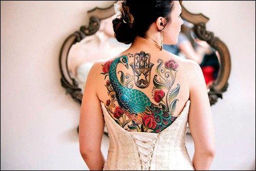 Spose tatuate: valorizzare i tatuaggi! 11