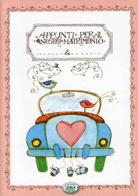 """Consigli agenda/libro """"appunti del nostro matrimonio"""" - 1"""