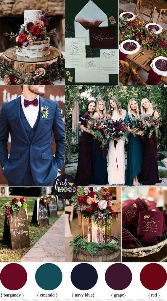 Quale colore è più adatto alle tue nozze? - 1