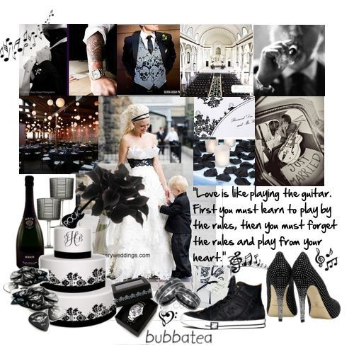 Matrimonio Tema Rockabilly : Centrotavola matrimonio rock diamo idee a daniele