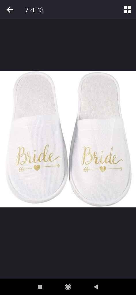 Vestaglia da camera e pantofole il giorno della matrimonio!! - 1