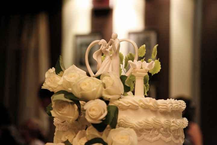 cake topper e torta