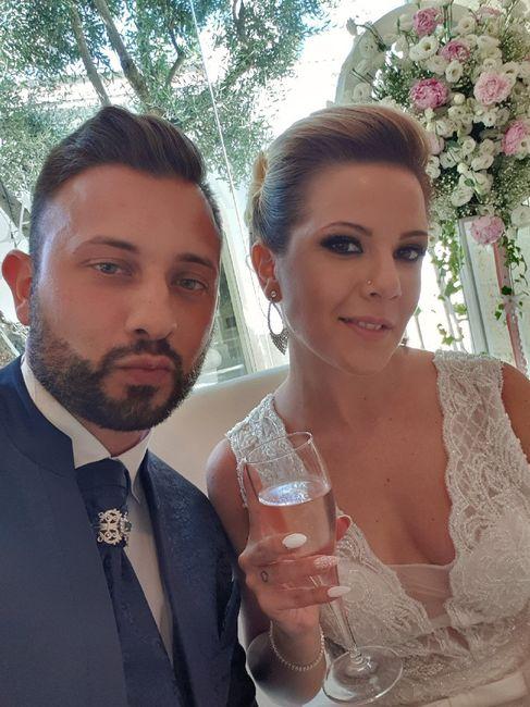 Il primo Selfie da sposati!! 😜❤️📷💒 2