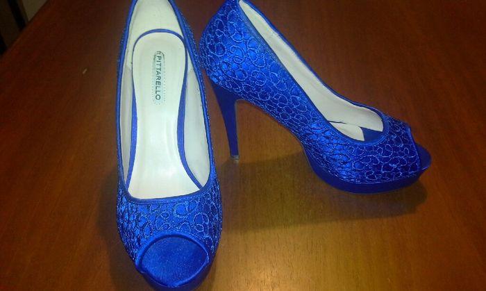 Scarpe sposa blu, che depressione!! - 2