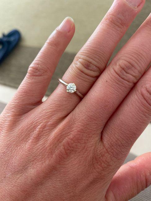 I vostri anelli di fidanzamento: vogliamo vederli! 24
