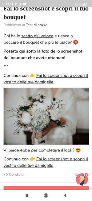 Fai lo screenshot e scopri il tuo bouquet 27