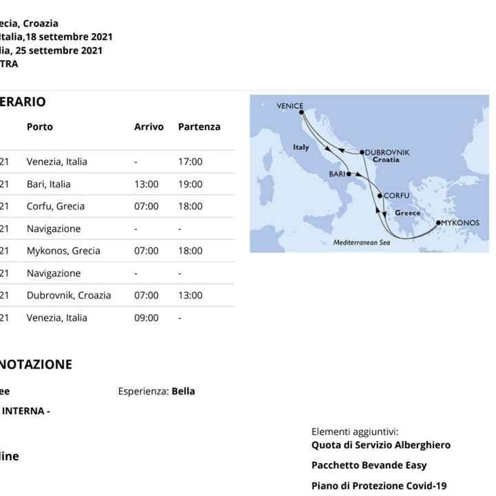 Crociera msc  annullata Grecia e Croazia da Venezia - 1