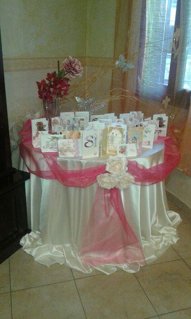 Amato Addobbo tavolo casa della sposa - Organizzazione matrimonio  ZL62