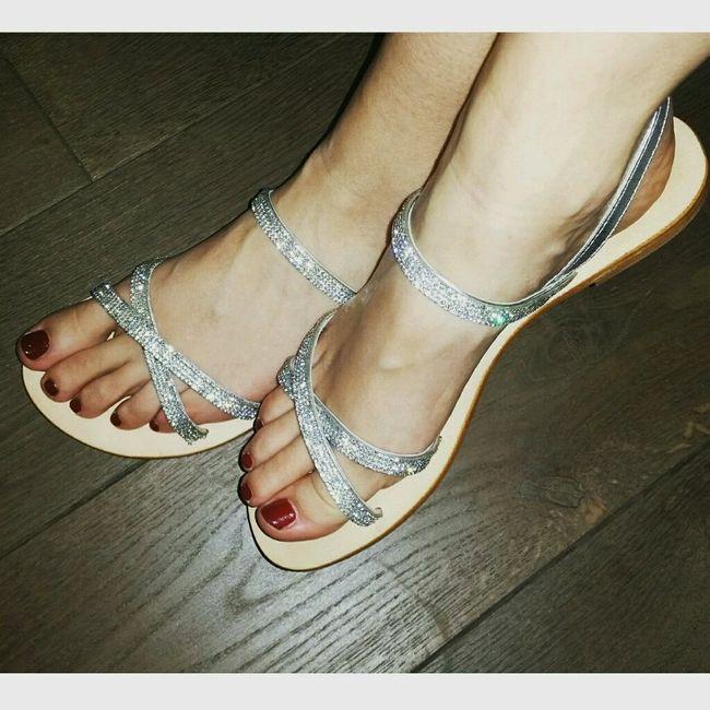 Sandali basse per sposa - 1