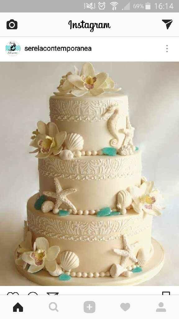 Idee sulla torta nuziale - 1