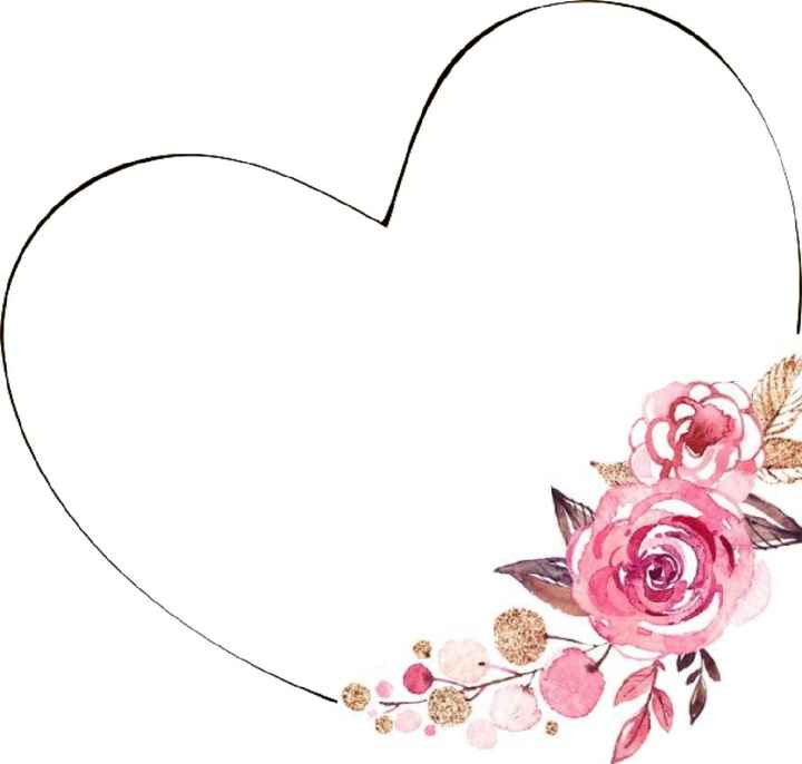 Partecipazione floreali tema amore - 1