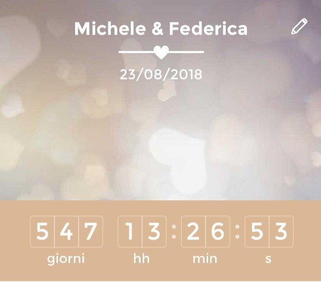 Quanti giorni mancano alle tue nozze? - 1