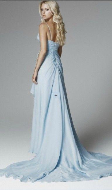 Vestito Azzurro Matrimonio : E oggi abiti azzurri moda nozze forum matrimonio