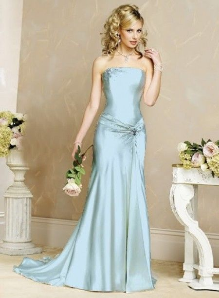 Trucco Matrimonio Abito Azzurro : Abito azzurro foto moda nozze