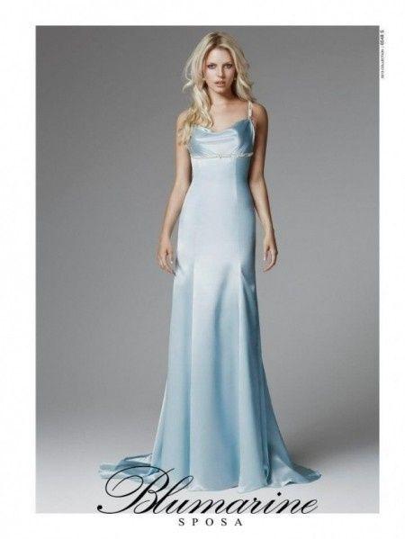 Trucco Matrimonio Abito Azzurro : E oggi abiti azzurri moda nozze forum matrimonio