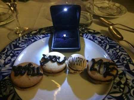 la mia proposta di matrimonio