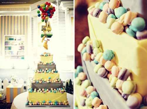 torta tema Up