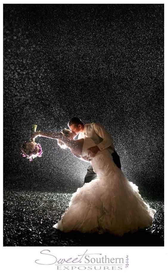 wedding rain