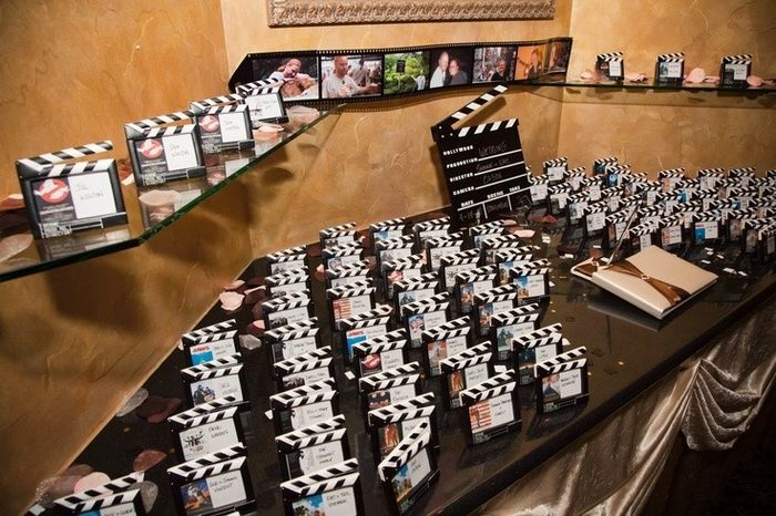 Popolare Tableau mariage cinema - Prima delle nozze - Forum Matrimonio.com CA95