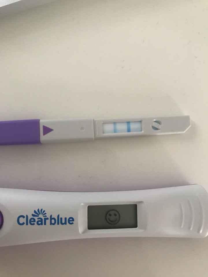 Clearblue tappo viola come test di gravidanza. - 1