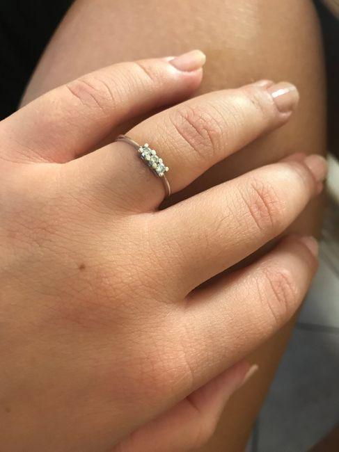 I vostri anelli di fidanzamento: vogliamo vederli! 5