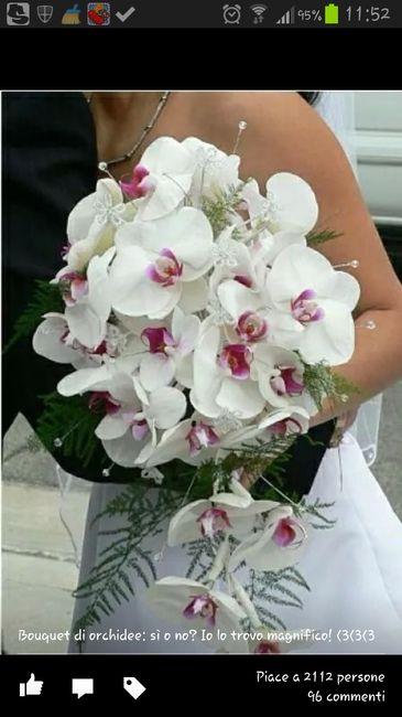 Bouquet Sposa Calle E Orchidee.Bouquet Di Orchidee Si O No Organizzazione Matrimonio