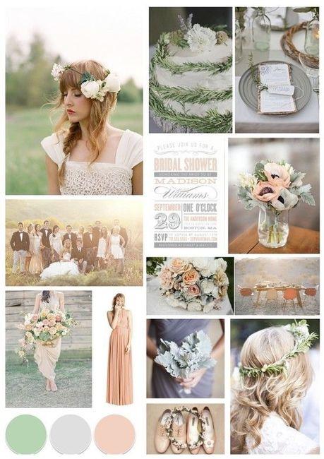 Wedding's Palette: i colori complementari (verde/rosso/rosa) 4