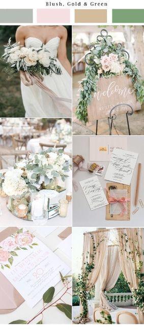 Wedding's Palette: i colori complementari (verde/rosso/rosa) 5