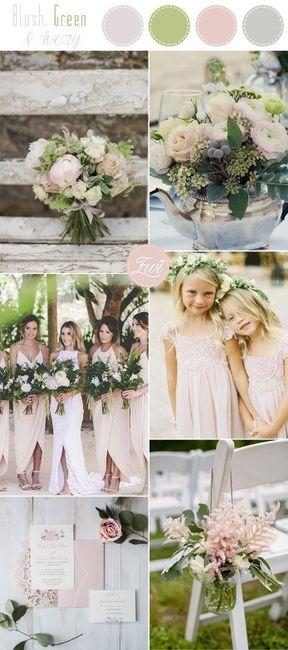 Wedding's Palette: i colori complementari (verde/rosso/rosa) 6