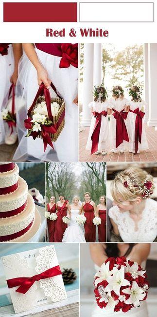 Segnaposto Matrimonio Rosso.Il Colore Del Matrimonio Il Rosso Organizzazione