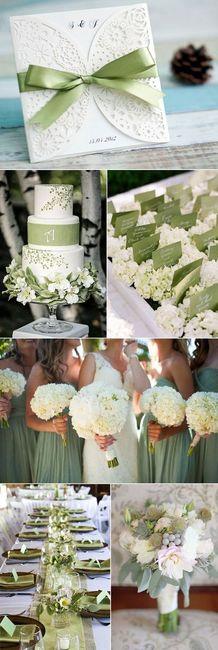 Segnaposto Matrimonio Verde.Il Colore Del Matrimonio Il Verde Organizzazione Matrimonio