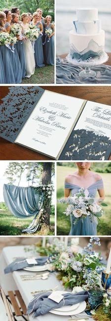 Matrimonio Colore Azzurro : Il colore del matrimonio l azzurro organizzazione