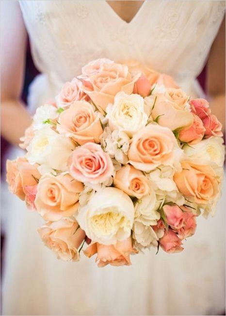 Bouquet Sposa Color Pesca.Il Colore Del Matrimonio Rosa Corallo Pesca Organizzazione