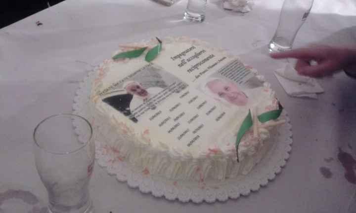 Termine corso prematrimoniale con torta - 1