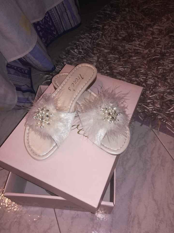 Pantofole sposa. - 2