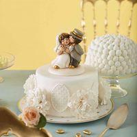 Dubbi sul tema di nozze? Il cake topper - 1