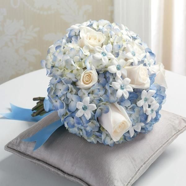 Matrimonio In Azzurro Polvere : Fiori celesti matrimonio