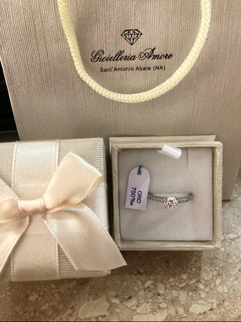 E ora mostraci una foto del tuo anello di fidanzamento! 18