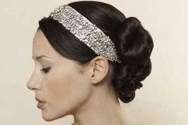 Fascia luminosa per capelli - 1